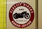 Наклейки с лого Classic Riders/Classic Riders logoga klepsud