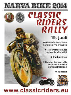 Classic Riders Rally 2014