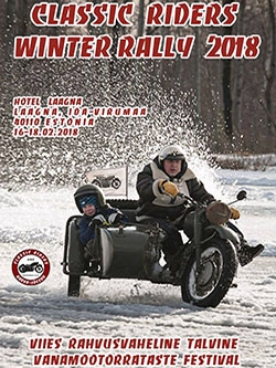 Classic Riders Winter Rally 2018