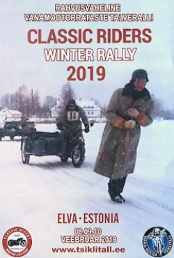 Classic Riders Winter Rally 2019